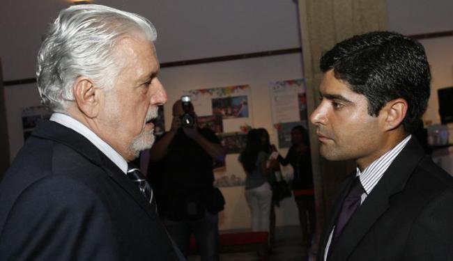 Jaques Wagner (PT) e ACM Neto (DEM) são os principais cabos-eleitorais da disputa em 2014 - Foto: Marco Aurélio Martins / Ag. A Tarde