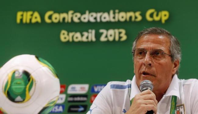 Para o técnico do Uruguai, derrota para a Espanha era esperada - Foto: Marcos Brindicci / Agência Reuters