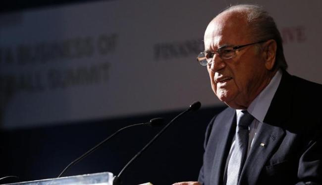 Presidente da Fifa diz que manifestantes usam Copa como