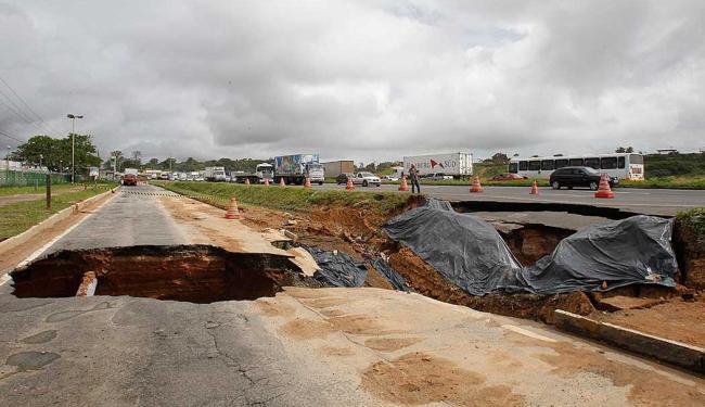 Previsão é que obra seja finalizada em meados de julho - Foto: Lúcio Távora | Ag. A TARDE