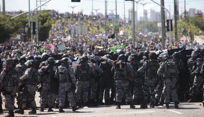 Protestos em Fortaleza, Ceará - Foto: Raul Spinassé | Ag. A TARDE