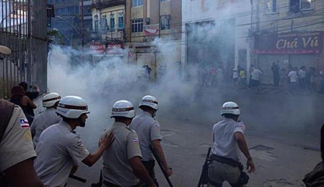 Repressão da PM na Joana Angélica - Foto: BBMP | Facebook