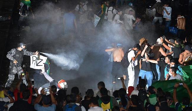 Entre os atendimentos médicos, motivo mais frequente foi o efeitos do gás lacrimogêneo - Foto: Fabio Rodrigues Pozzebom | Ag. Brasil