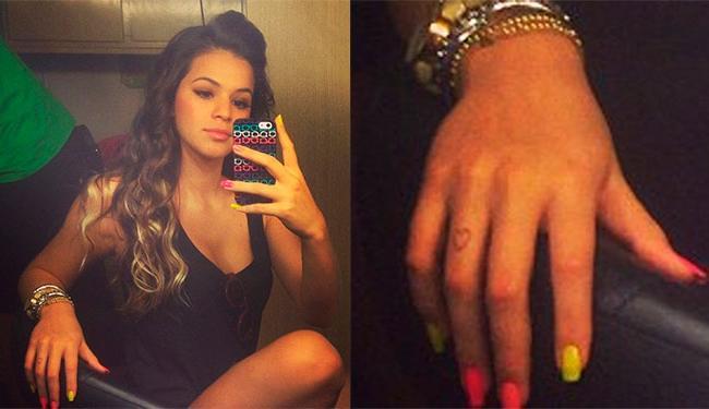 Bruna namora o jogador Neymar e terá que ficar longe dele depois que ele se mudar para a Espanha - Foto: Instagram | Reprodução