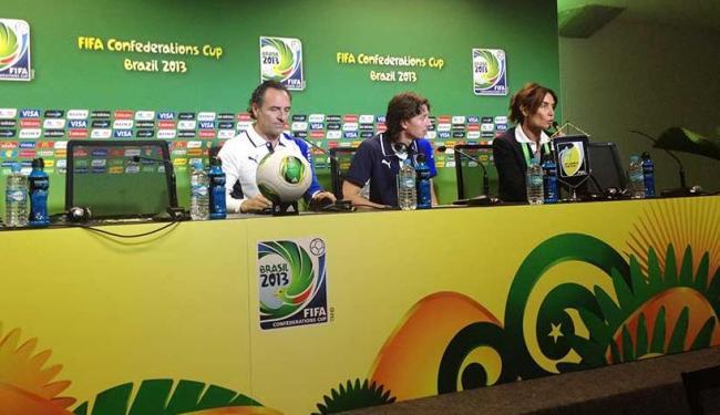 Prandelli revelou que as autoridades locais recomendaram que a delegação não deixe o hotel - Foto: Lucas Cunha | Ag. A TARDE