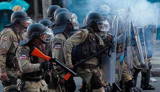 PMs reprimiram protestos na quinta, dia 20 - Foto: Lúcio Távora | Ag. A TARDE