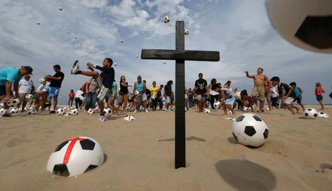 ONGs como a Rio de Paz usa as redes para promover mudanças - Foto: Marcelo Sayão | Ag. EFE