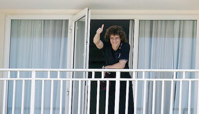 David Luiz garante que enfrenta o Uruguai na quarta-feira - Foto: Raul Spinassé | Ag. A TARDE