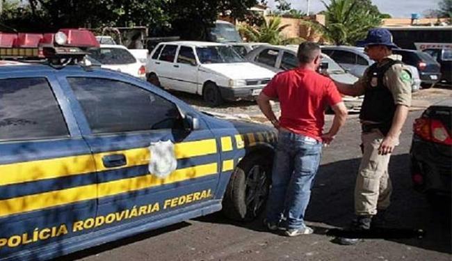 Após abordagem, empresário é preso em Seabra por dirigir embriagado - Foto: Divulgação   PRF