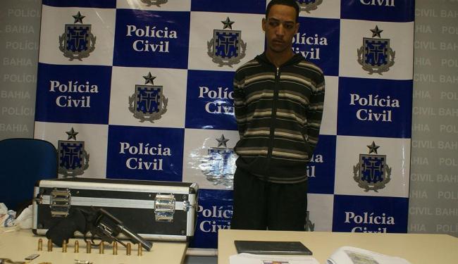 Assaltante e traficante Augusto Santos Vilas Boas matou aposentada - Foto: Ascom | Polícia Civil
