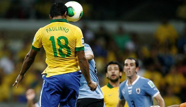 Gol salvador de Paulinho leva o Brasil à final da Copa das Confederações - Foto: Raul Spinassé | Ag. A TARDE