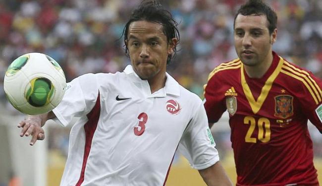 Marama Vahirua, 33 anos, jogou no futebol francês e na Grécia - Foto: Felipe Trueba / Agência EFE