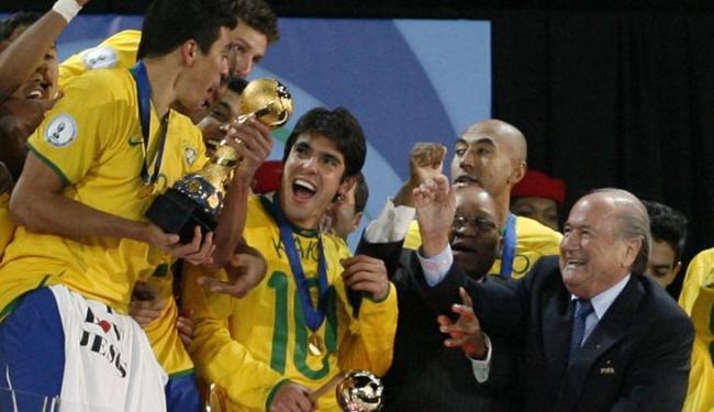 Na Copa das Confederações, sul-americanos tem quatro títulos contra dois europeus; Brasil é tri - Foto: Paul Thomas / Agência AP