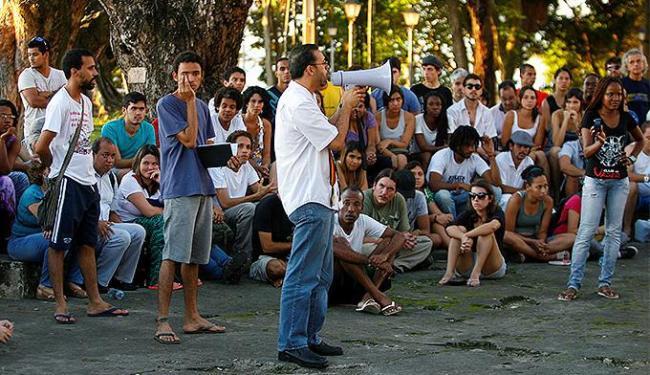 Reunião foi realizada na tarde deste sábado, 29, no Passeio Público - Foto: Adilton Veneregoles   Ag. A TARDE