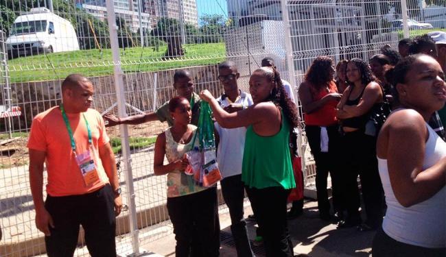 Trabalhadores tiveram que devolver crachás de acesso à Arena Fonte Nova - Foto: Lucas Cunha | Ag. A TARDE