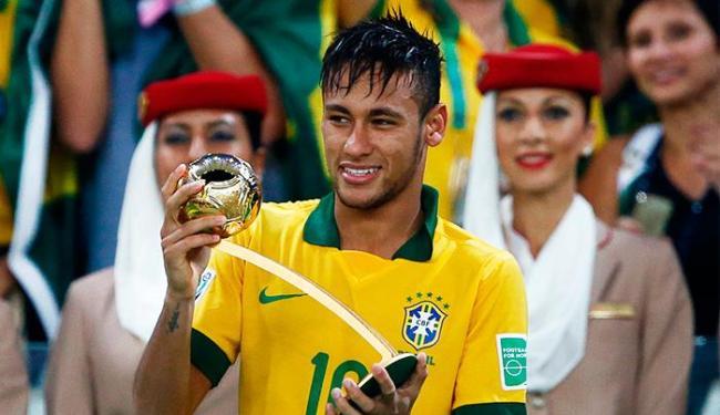 Com a Bola de Ouro de Neymar, Brasil faturou pela quinta vez a honraria - Foto: Agência Reuters