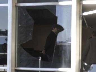 Presidente considera os atos de vandalismo inaceitáveis, como o ocorrido no prédio do Itamaraty - Foto: Agência Brasil