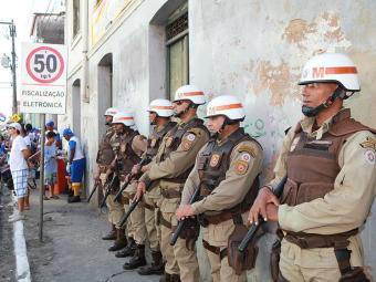 Policiamento será reforçado por causa da onda de protestos - Foto: Marco Aurélio Martins | Ag. A TARDE