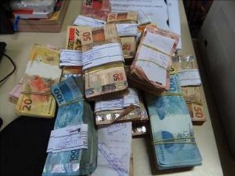 Quantia furtada foi encontrada na casa do funcionário - Foto: Aldo Matos | Site Acorda Cidade