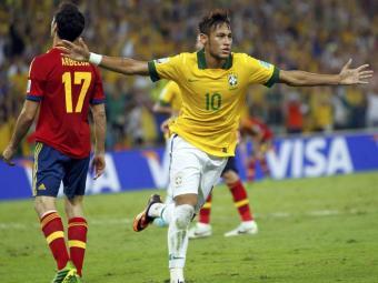 Neymar e mais sete brasileiros estão na seleção da Copa das Confederações - Foto: Marcos Brindicci / Agência Reuters