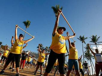 Atividade física ajuda sistema cognitivo e fortalece imunidade - Foto: Marco Aurélio Martins   Ag. A TARDE