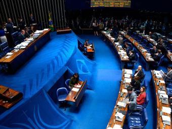 A ausência de 16 senadores ajudou a enterrar o projeto - Foto: Wilson Dias | ABr