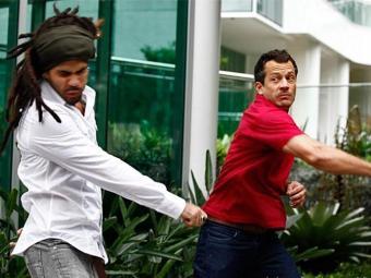 Bruno e Ninho trocam socos por causa de Paulinha - Foto: TV Globo | Divulgação