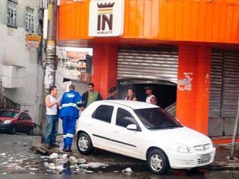 A primeira loja da Insinuante foi arrombada na última quinta - Foto: Matheus Lima | Reprodução | Facebook