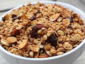 Granola é rica em vitaminas, minerais e fibras - Foto: Divulgação