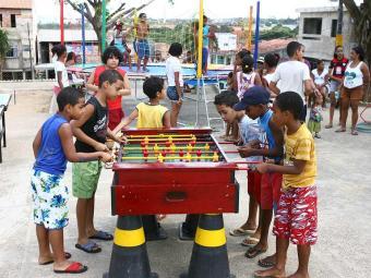 Atividades do Ruas de Lazer animam crianças no final de semana - Foto: Fernando Amorim   Ag. A TARDE