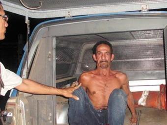 Raimundo foi preso em flagrante na casa em que vivia com Ednalva - Foto: Blog Binho Locutor | Divulgação