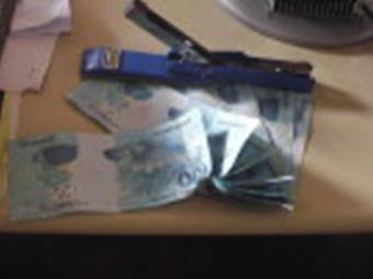 Polícia já identificou nove notas falsas de R$100 - Foto: Blog Binho Locutor