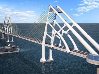 Projeto da Ponte Salvador-Itaparica - Foto: Divulgação