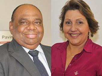 Luiz Fernando Lima e Lisbete Maria Teixeira Almeida Cézar Santos - Foto: TJBA | Divulgação