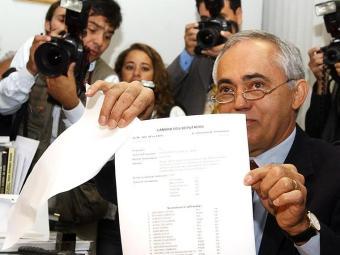 Carreiro se aposentou em março de 2007 como secretário-geral da Mesa do Senado - Foto: Antônio Cruz | ABr