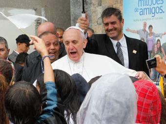 Pontífice encerra JMJ 2013 com missa em Copacabana - Foto: Aniele Nascimento | Folhapress