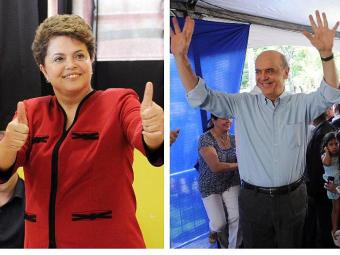 Dilma e Serra de olho nas eleições de 2014 - Foto: Agência Brasil