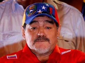 Maradona volta a se envolver em confusão - Foto: Agência Reuters
