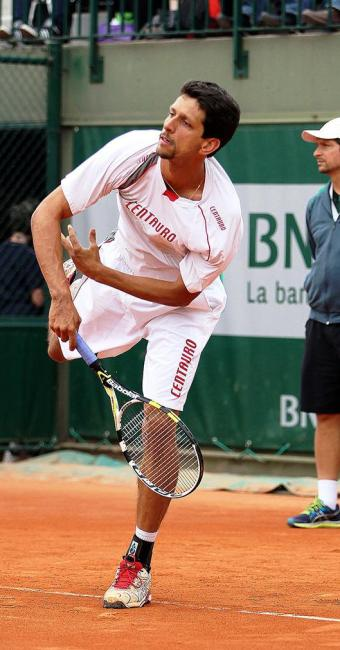 Marcelo Melo (na foto em Roland Garros) chega à final inédita de duplas em Wimbledon - Foto: Ron Angle | Divulgação | VIPCOMM
