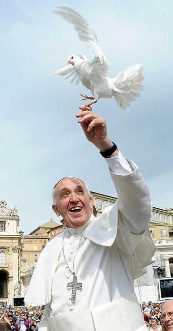 Papa Francisco, durante celebração no Vaticano - Foto: Agência Reuters