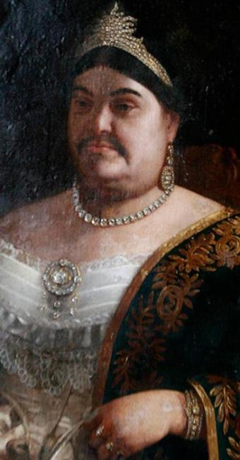 O retrato de Maria Epifânia: pelos no rosto são marca de senhora da elite baiana - Foto: Raul Spinassé l Ag. A TARDE