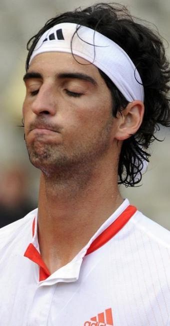 Bellucci perdeu 43 posições na lista e ocupa o 113º lugar, com 495 pontos. - Foto: Olivier Anrigo / Agência Reuters