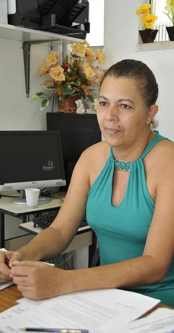 Ana Oliveira coordena o Serviço Social no Iperba - Foto: Erik Salles   Arquivo   Ag. A TARDE