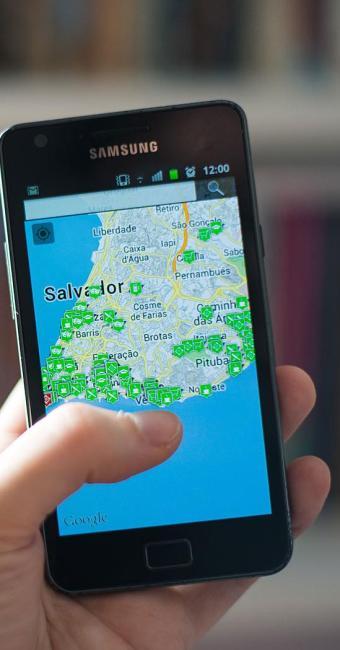 Aplicativo encontra redes wi-fi em Salvador - Foto: Leonardo Pastor | Divulgação