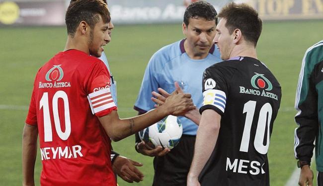 Neymar e Messi fizeram dois gols, cada, na partida - Foto: Agência Reuters