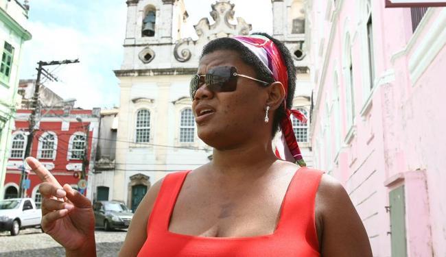 Valéria Coutinho, moradora da Ladeira do Boqueirão: