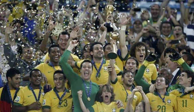Após conquista da Copa das Confederações, seleção brasileira subiu 13 posições no ranking - Foto: Raul Spinassé / Ag. A TARDE