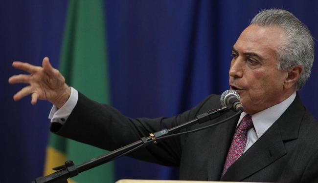 Vice-presidente argumenta que não tem tempo hábil de realizar o plebiscito - Foto: Lúcio Távora | Ag. A TARDE
