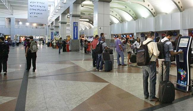 Aeroporto de Salvador está entre os analisados - Foto: Adilton Veneregoles   Ag. A TARDE