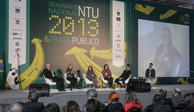 Mobilidade urbana nas cidades-sedes da Copa foram discutidos durante seminiário - Foto: Divulgação NTU